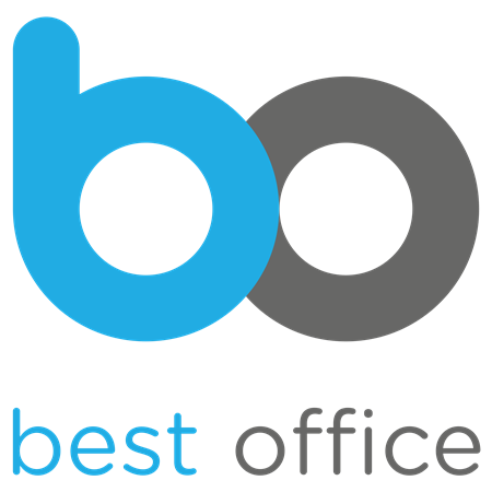 Olló irodai  16 cm  VICTORIA fekete