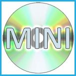 Mini (8 cm-es) DVD lemezek