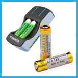 Elemek, akkumulátorok és töltők