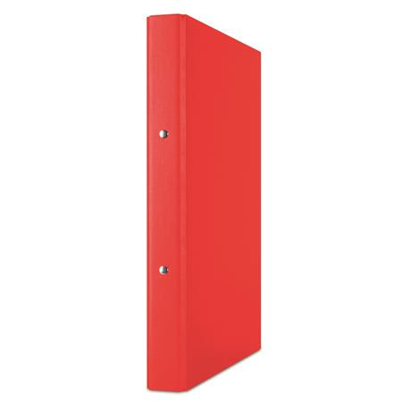 DONAU Gyűrűs könyv, 2 gyűrű, 35 mm, A4, PP/karton, DONAU, piros