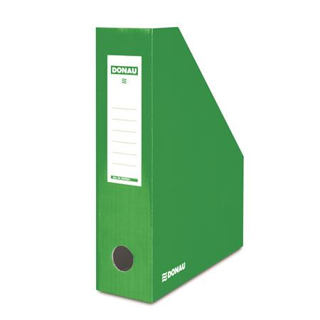 DONAU Iratpapucs, karton, 80 mm, DONAU, zöld