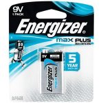 "ENERGIZER Elem, 9V, 1db, ENERGIZER, ""Max Plus"""