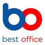 """FELLOWES Archiválódoboz, A4, 80 mm, FELLOWES """"Bankers Box Basic"""", kék-fehér"""