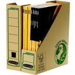 """FELLOWES Iratpapucs, karton, 80 mm, """"BANKERS BOX® EARTH SERIES by FELLOWES®"""""""