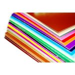 . Dekor karton, 2 oldalas, 48x68 cm, bordó
