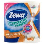 """ZEWA Háztartási papírtörlő, 2 rétegű, 2 tekercses, ZEWA """"Wisch&Weg extra lang"""""""