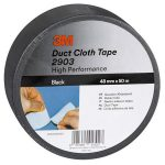 "3M SCOTCH Ragasztószalag, vinyl, 48 mm x 50 m, 3M SCOTCH ""Duct"", fekete"