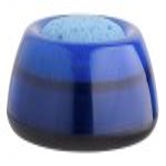 """ICO Ujjnedvesítő szivacstál, ICO """"Lux"""", áttetsző kék"""