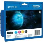 BROTHER LC1280XLBCMY Tintapatron multipack MFC J6910DW, BROTHER, b+c+m+y, 1*2400 o., 3*1200 o.