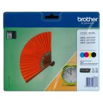 BROTHER LC129XLB/LC125XLCMY multipack MFC-J6520 nyomtatóhoz, BROTHER, b+c+m+y, 1*2400 o., 3*1200 o.