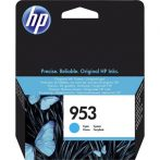 HP F6U12AE Tintapatron OfficeJet Pro 8210, 8700-as sorozathoz, HP 953, cián, 700 oldal