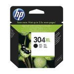 HP N9K08AE Tintapatron DeskJet 3720, 3730 nyomtatóhoz, HP 304XL, fekete