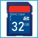 32 GB-os Secure Digital (SD) kártyák