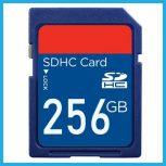 256GB-os Secure Digital (SD) kártyák