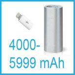 Hordozható akkumulátorok 4000-5999 mAh