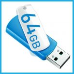 64 GB-os USB pendrive-ok