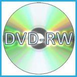 Újraírható DVD lemezek