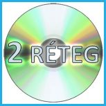 Kétrétegű DVD lemezek