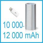 Hordozható akkumulátorok 10000-12000 mAh