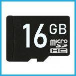 16 GB-os Micro SD kártyák