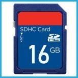 16 GB-os Secure Digital (SD) kártyák