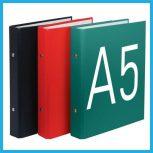 A/5-ös gyűrűskönyvek